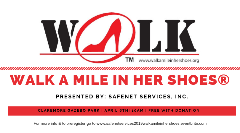 April 6th | 2019 Walk A Mile In Her Shoes®