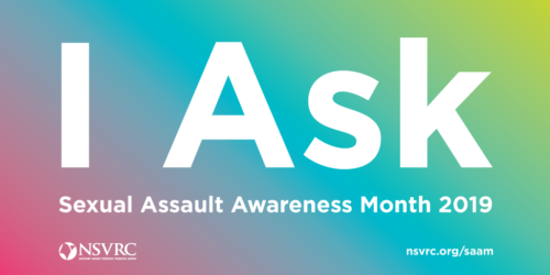 April is National Sexual Assault Awareness Month